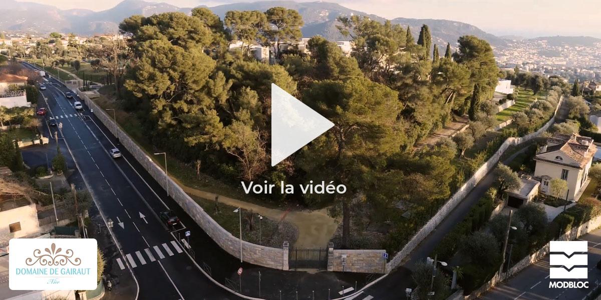 Le Domaine de Gairaut, Nice - Une réalisation MODBLOC