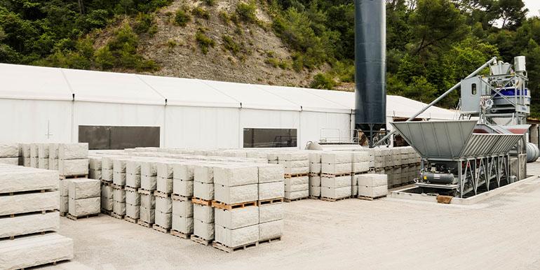 MODBLOC usine murs modulaires